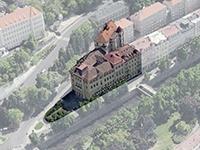 Rekonstrukce tří domů v Karlových Varech